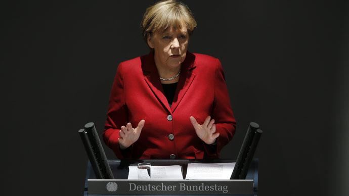 German Chancellor Angela Merkel (Reuters/Fabrizio Bensch)