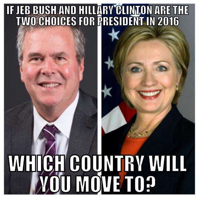 Bush-vs-Clinton