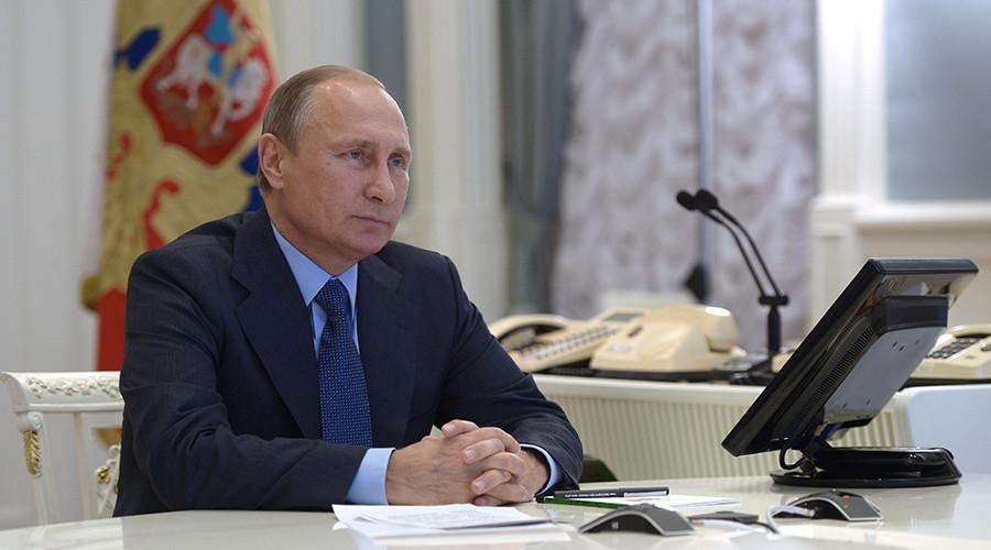 Russian President Vladimir Putin © Alexey Nikolsky / RIA Novosti