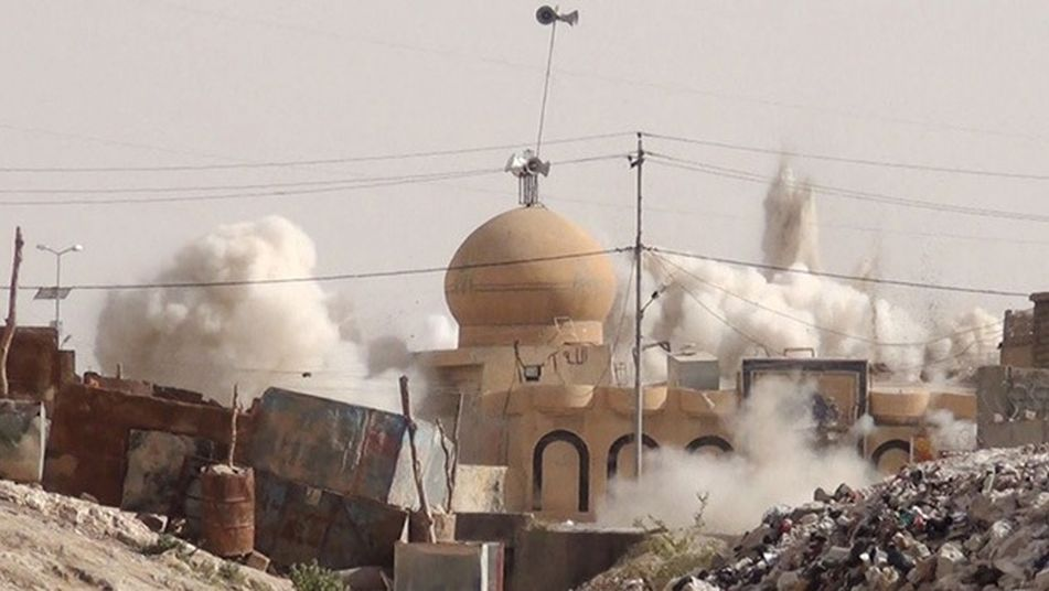 A total of six mosques across the northern Nineveh province of Iraq have been destroyed by ISIS forces.