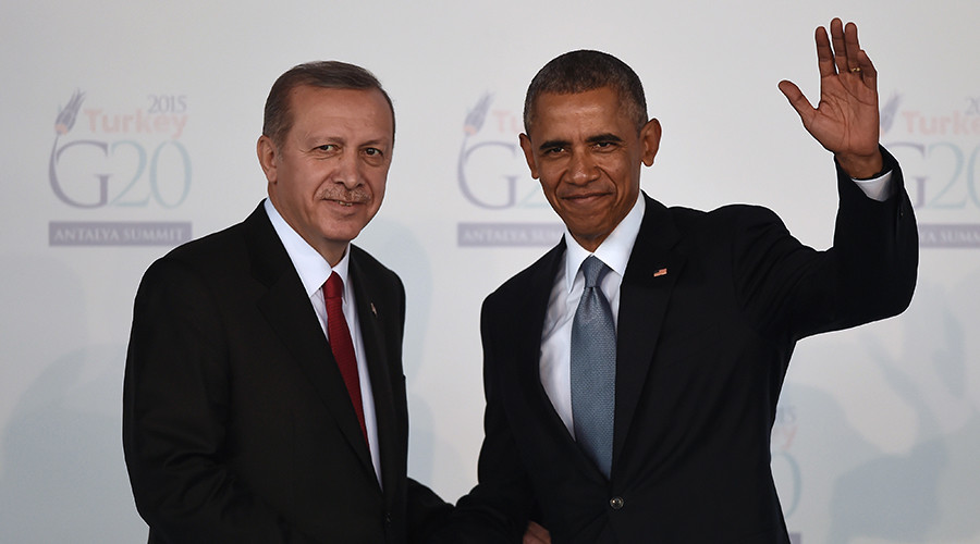 Turkish President Recep Tayyip Erdogan (L) shakes hands with US President Barak Obama © Ozan Kose Turkish President Recep Tayyip Erdogan (L) shakes hands with US President Barak Obama © Ozan Kose / AFP