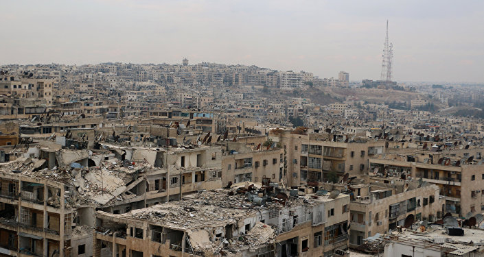 Aleppo, Syria post seige