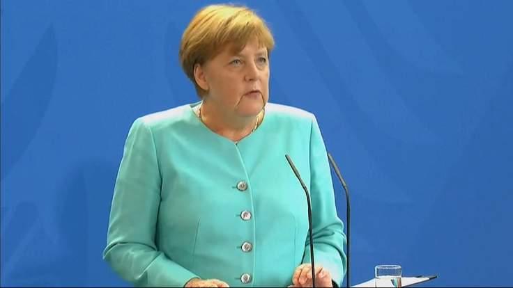 Angela Merkel On The EU's Principle