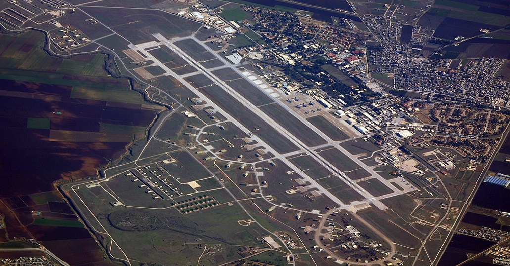 Incirlik Air Base in South-central Turkey