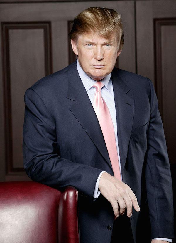 THE APPRENTICE -- NBC Series -- Pictured: Donald Trump -- NBC Photo: Chris Haston
