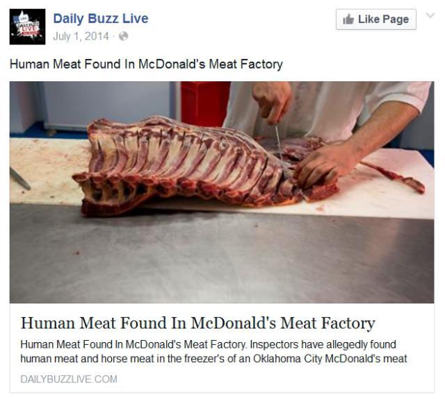 human-meat-mcdonalds-hoax