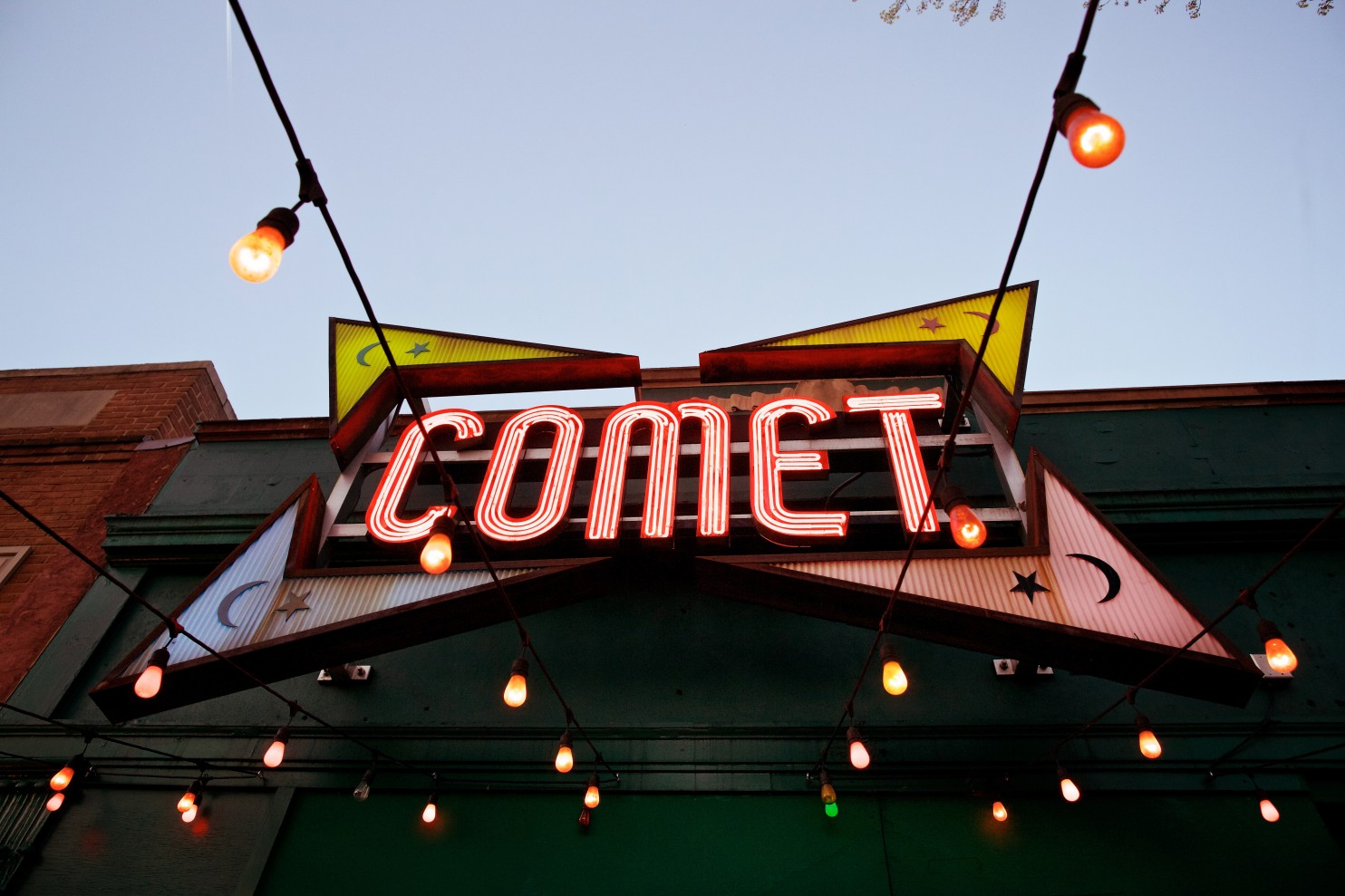 The exterior of Comet Ping Pong in the District. (Deb Lindsey /For The Washington Post)