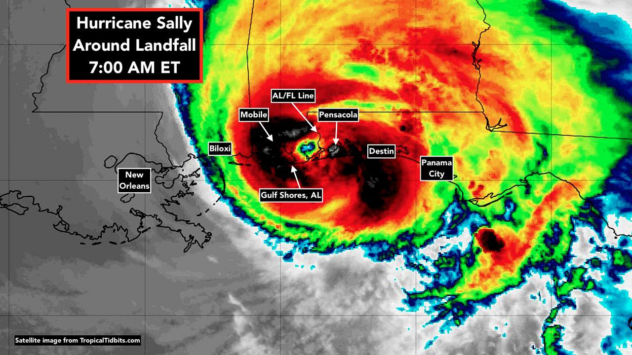 SURPRISE ATTACK SALLY: Globalist-Directed Geo-terrorists Aim Yet Another Weather Weapon at Florida Panhandle—WHO & WHY?