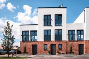 Project Etopia development in Corby, England