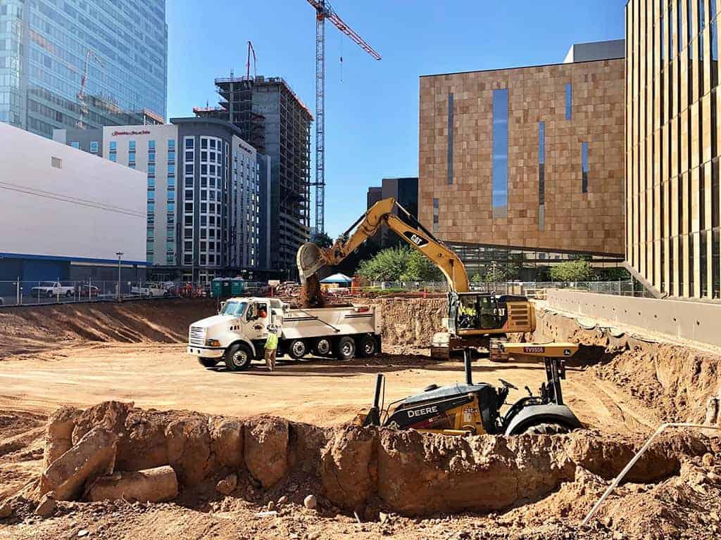 Construction commences on site