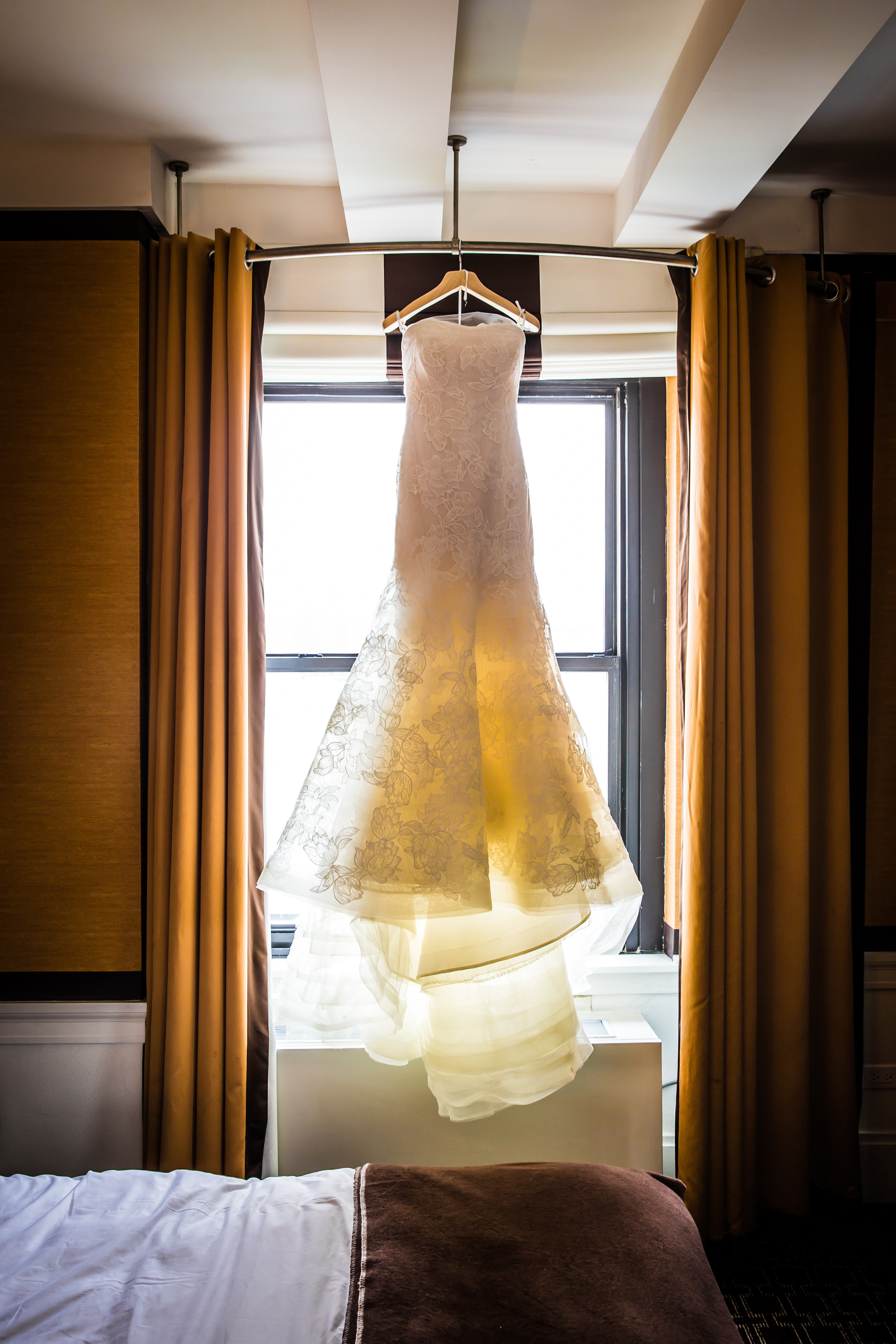 nyc wedding dress