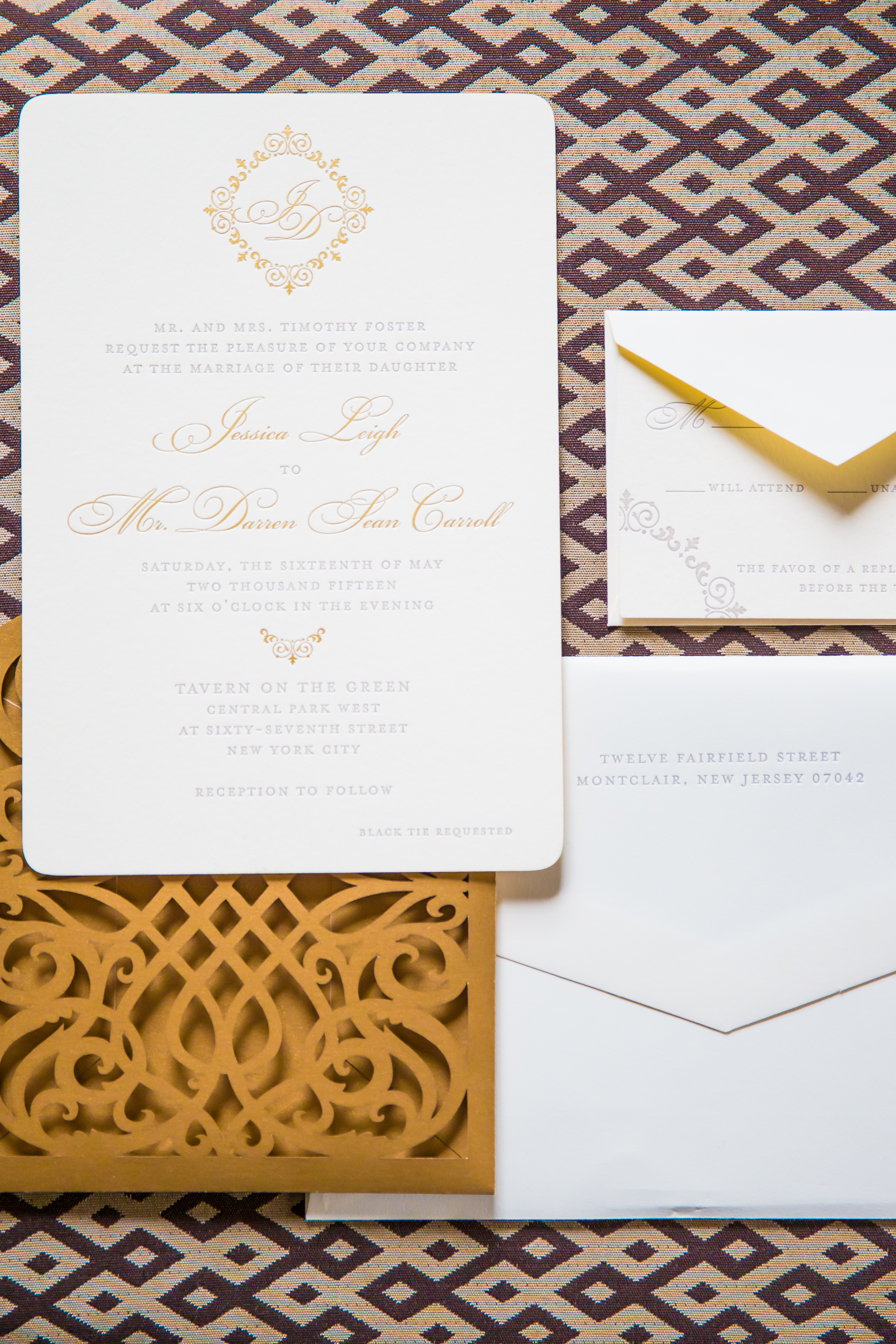 nyc wedding invitations