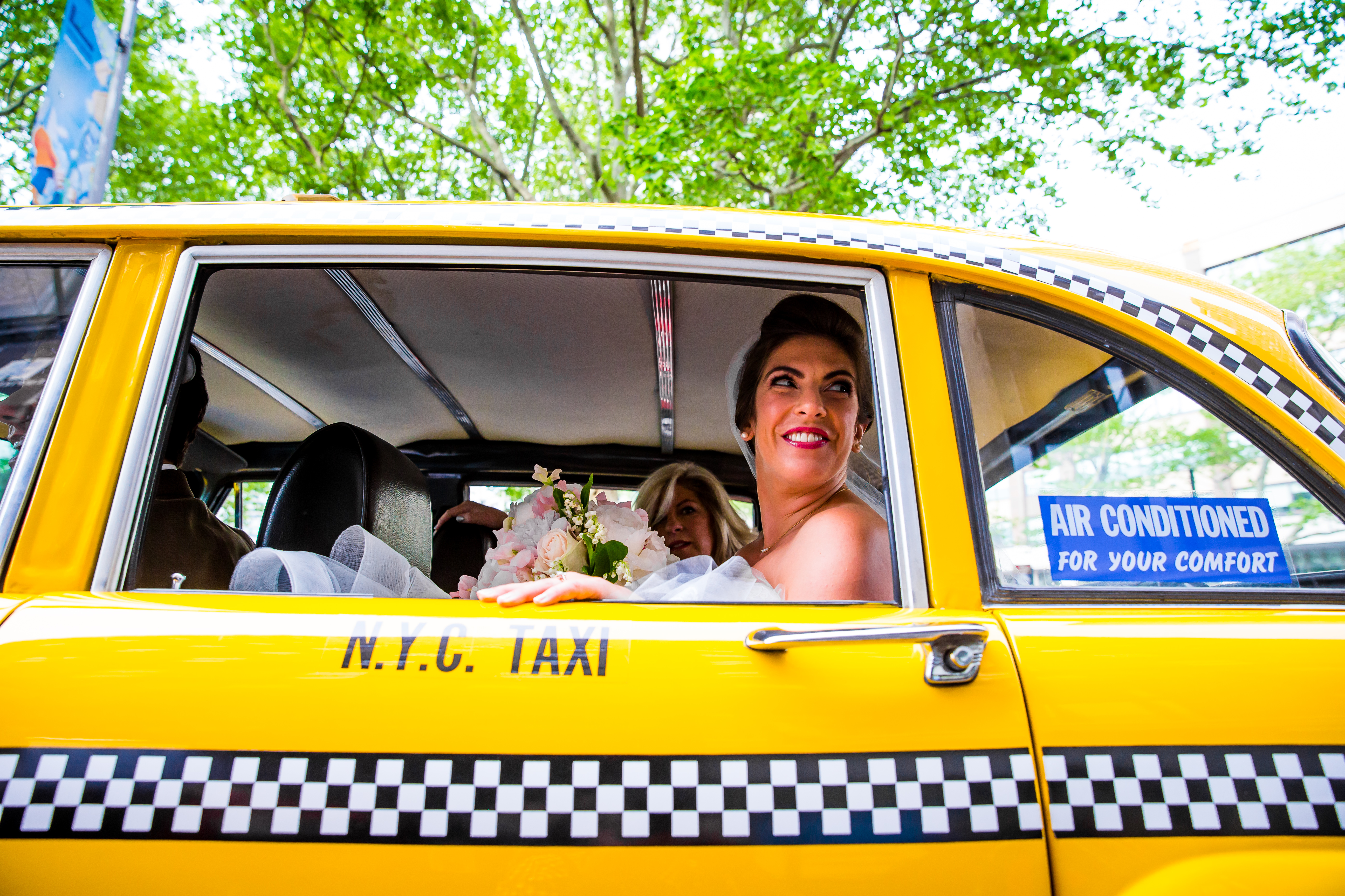 nyc wedding cab company