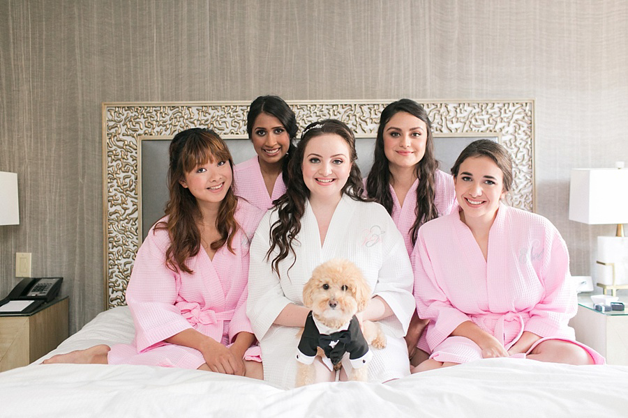 nyc bridal party makeup artist