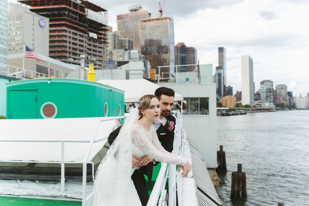 nyc wedding at the water club