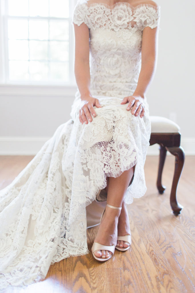 Ana Maier wedding gown