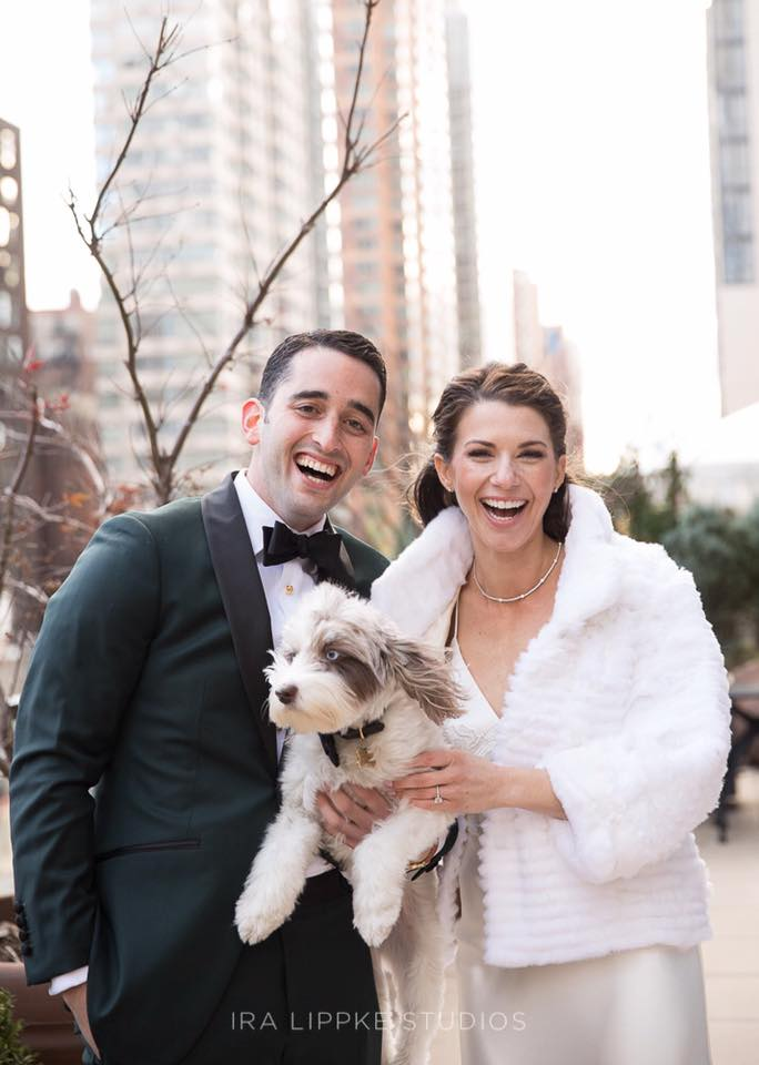 nyc winter wedding