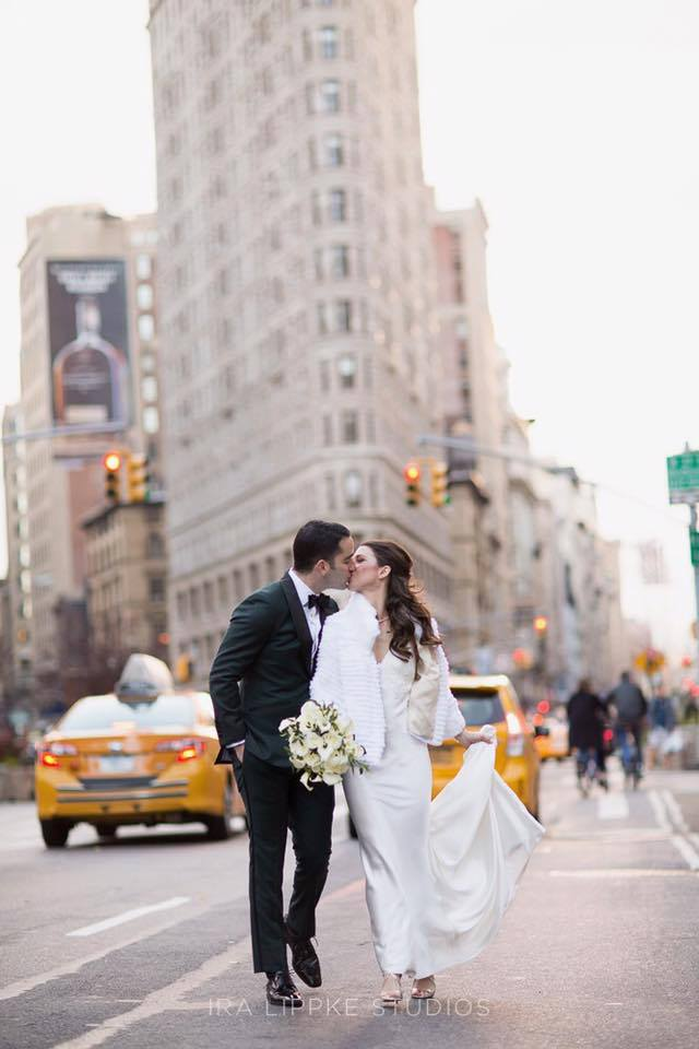 nyc bride and groom