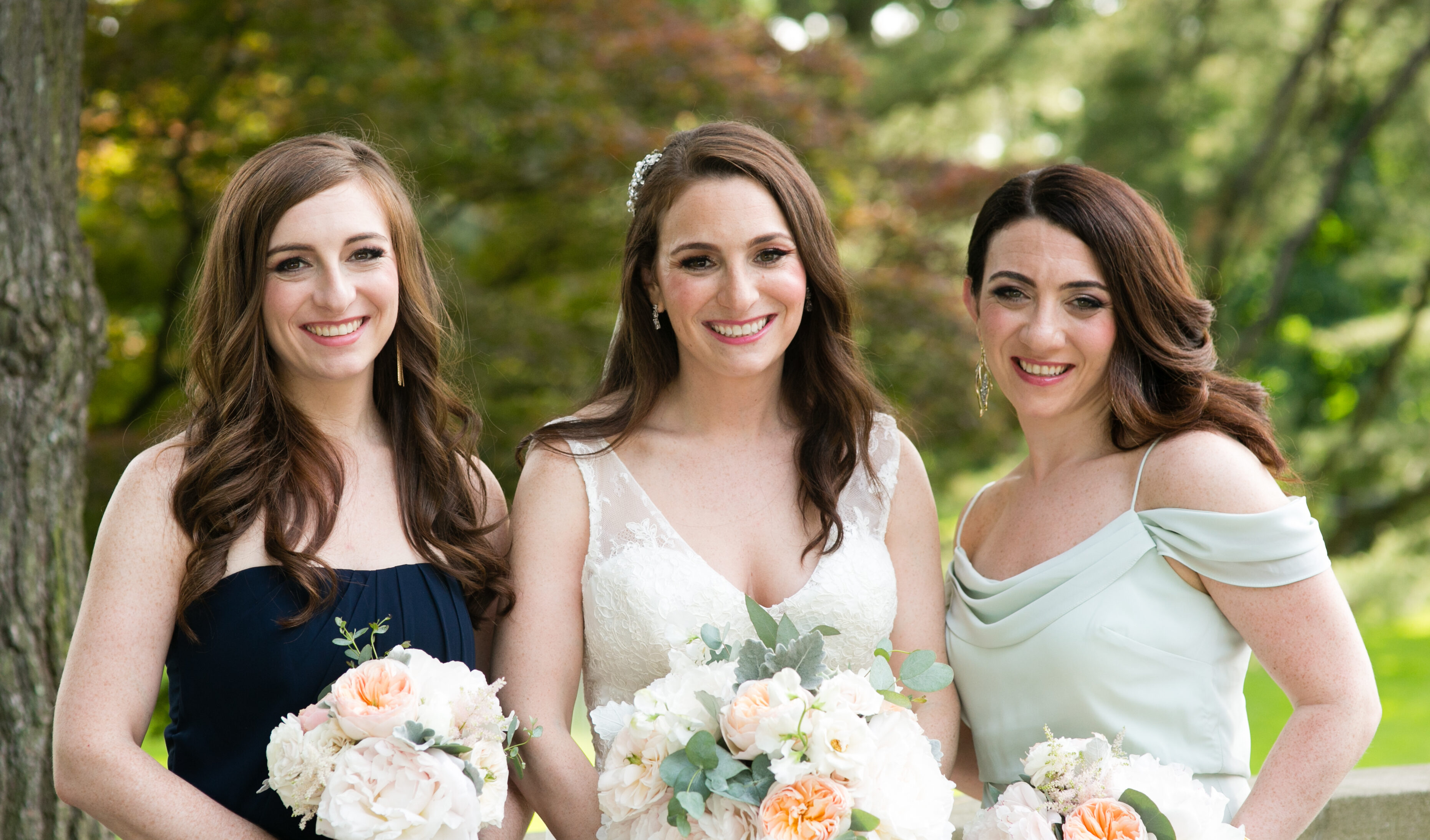 Tappan Hill Mansion wedding makeup