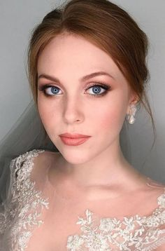 wedding makeup for redheads