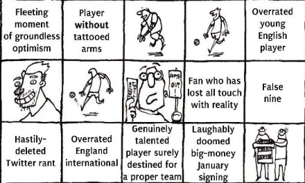 Introducing… Unofficial, Unaffiliated Premier League Bingo!