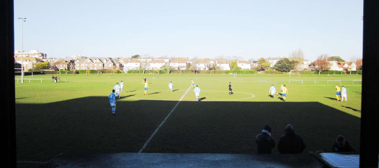 Bexhill United's walk in the park