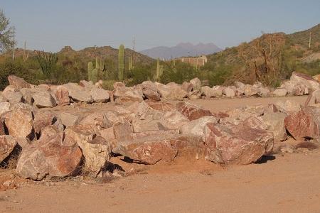 Pit Run Boulders