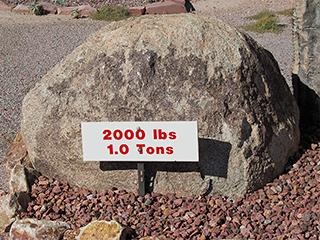 1 Ton Boulder