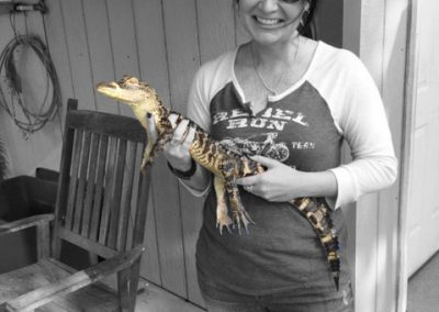 Julie and Boots in Biloxi, Mississippi