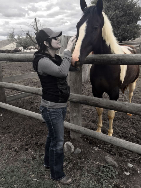 Julie and Domino Chico, Montana