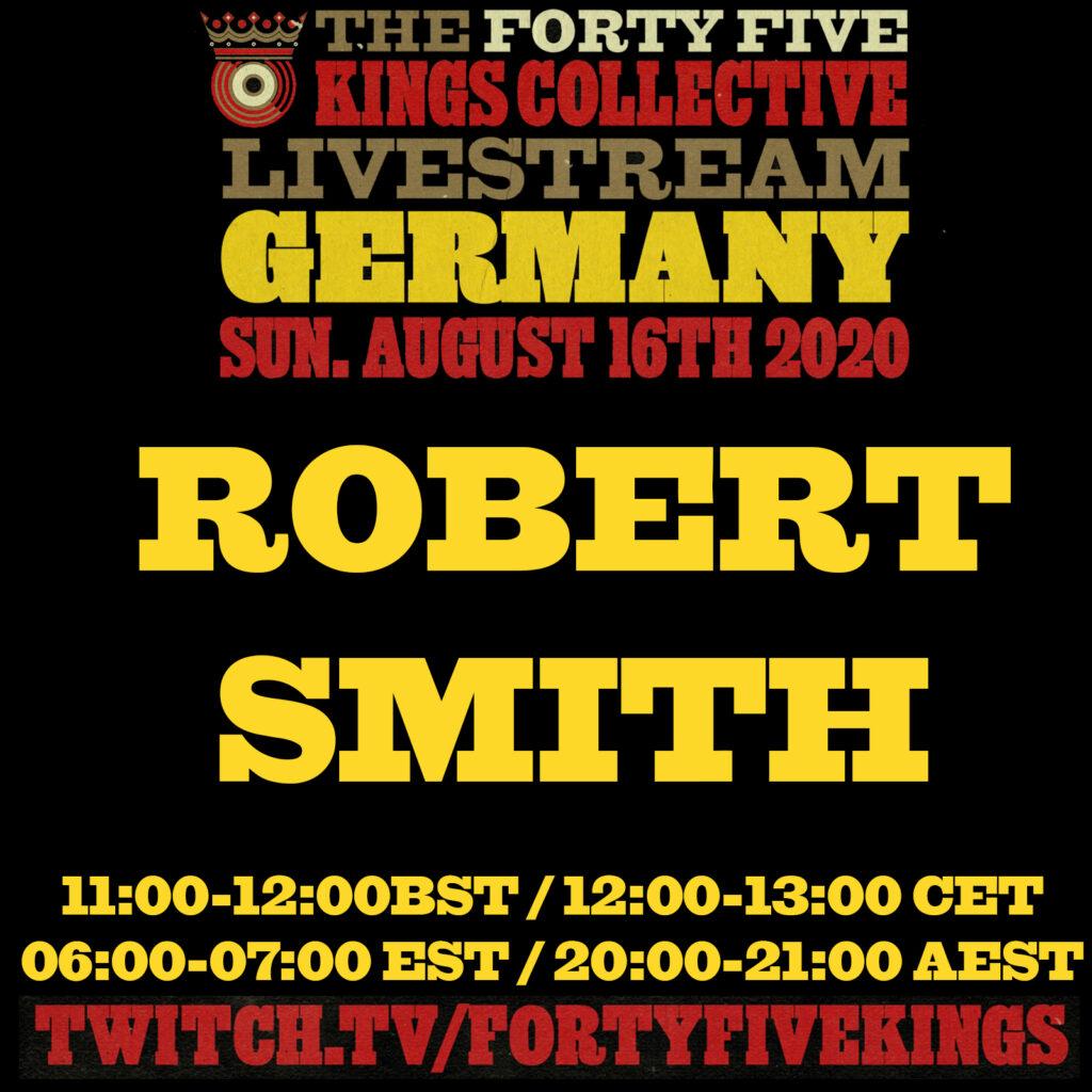 1. Robert Smith a