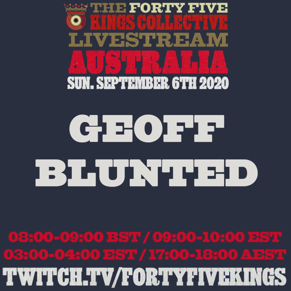 2. Geoff Blunted