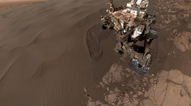 NASA Curiosity Mars Rover – Let me take a Selfie