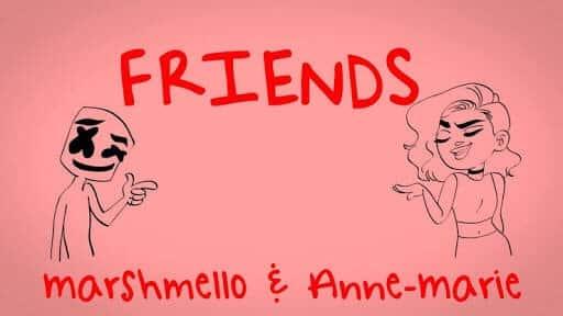 Marshmello + Anne Marie – Friends