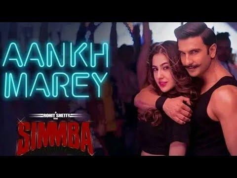 Aankh Marey – SIMMBA | Ranveer Singh | Sara
