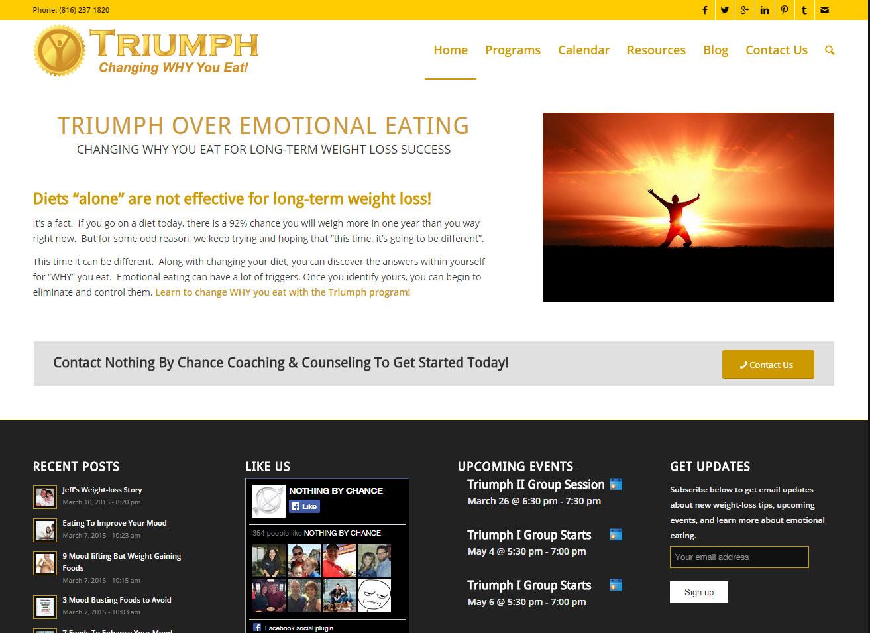 Triumph Website Launch
