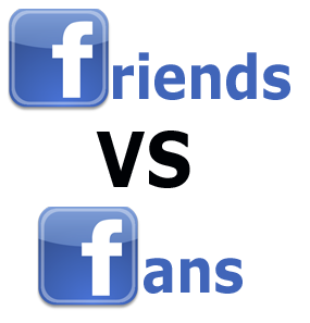 Business vs. Personal Profiles on Social Media Sites