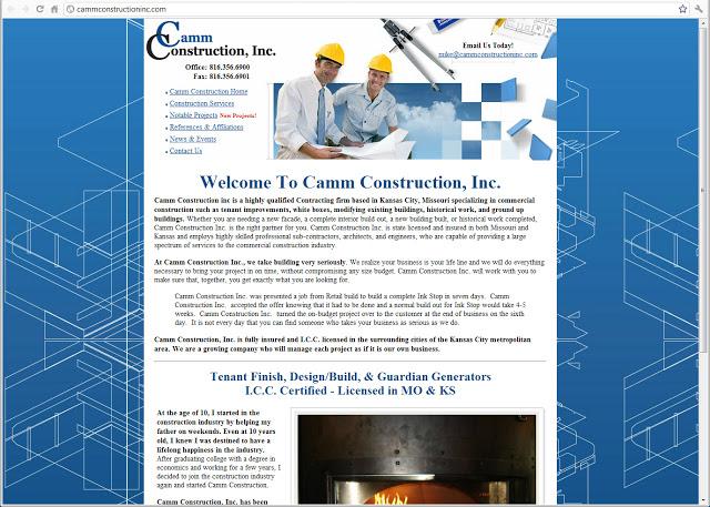 Camm Construction, Inc.