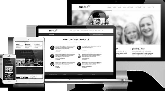 responsive mobile-friendly web design