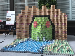 Canstruction 2017 Final Sculpture