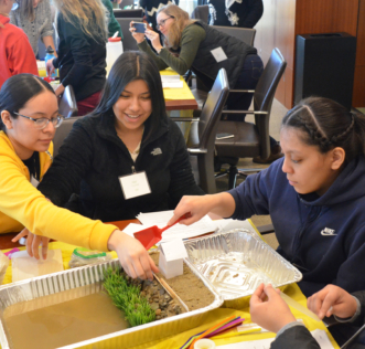 2019 Introduce a Girl to Engineering Day - Resilience Activity