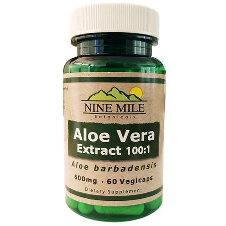 Nine Mile Botanicals Aloe vera 100:1