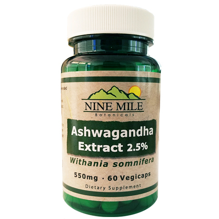 Nine Mile Botanicals Ashwagandha 2.5%