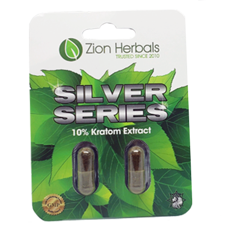 Zion Herbals Silver Series 2 capsule Blister