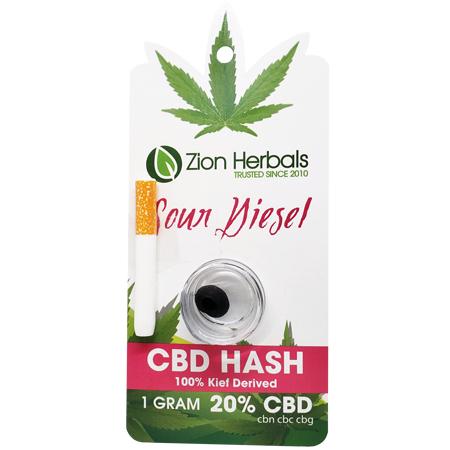 Zion Herbals CBD Hash