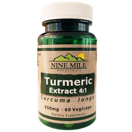 Nine Mile Botanicals 4:1 Turmeric