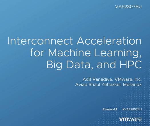Interconnect Acceleration for Machine Learning, Big Data, and HPC