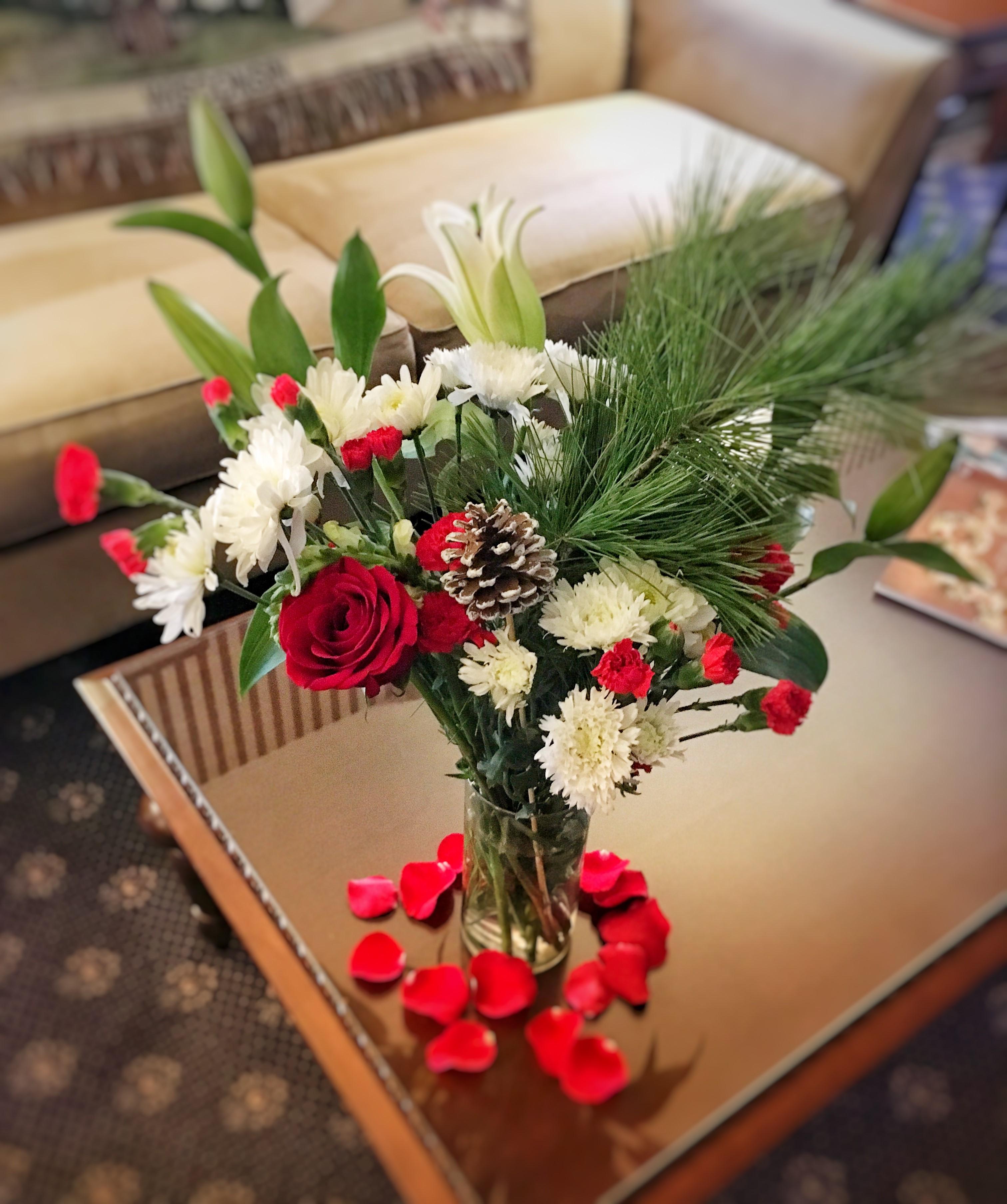 the rochester inn surprise or treat - seasonal flowers