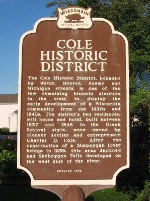 Wisconsin Historical Marker