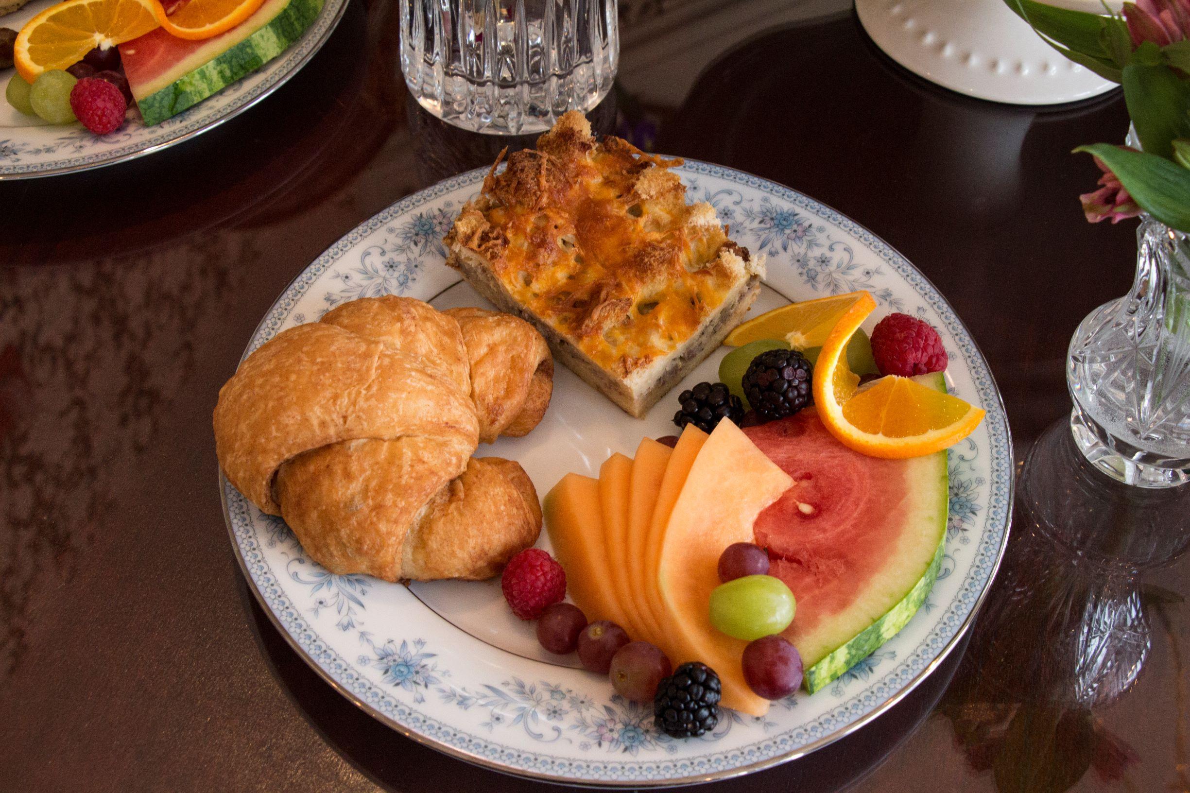 the rochester inn breakfast